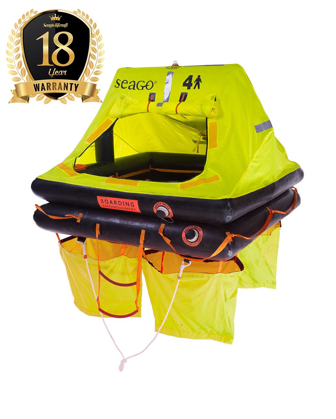 Sea Cruiser ISO 9650-2 Liferaft - Seago